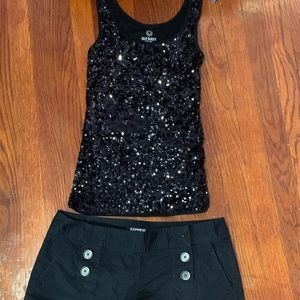Tank top and Shorts set